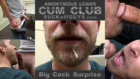 "CUM CLUB - ""Big Cock Surprise"""